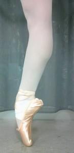 トウシューズを履いて踊る、その行動自体が一種のアートです