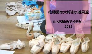 佐藤愛の大好きな道具達 DLSお勧めアイテム 2015 1